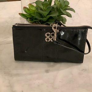 Coach Bags - Coach Black Patent Leather Wristlet